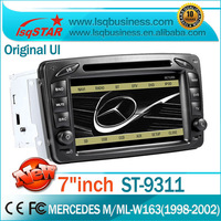 Mercedes-Benz W203(2000-2005) W210(1998-2002) Car Audio Player GPS Navigation with Radio ipod bluetooth SWC full functions
