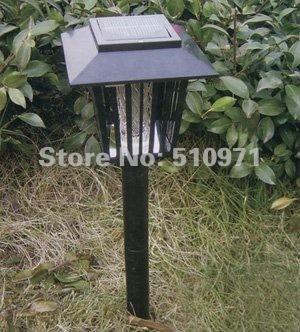 Solar gardern Mosquito Pest Insect Bug Killer Garden Light Lamp Lantern outdoor