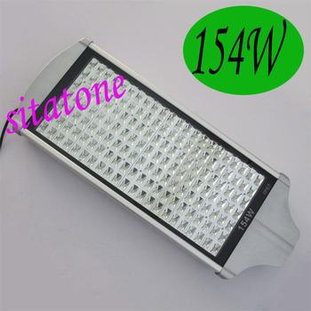CE FCC ROHS Factory delect sale 154W led street light AC85-265V IP67 130-140LM/W LED 3 years warranty 154*1w led street light