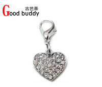 Christmas gift for your good buddy/fashion crystal dog charm/dog jewelry/dog products/dog items