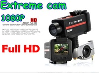 New HD sport camcorders 1080P Full HD motorbike action video camera, Metal housing, watertight. Great for motorsports