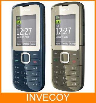 Originalnokia C2-00 Unlocked Phone Dual SIM Dual Standby  2 SIM Card freeship