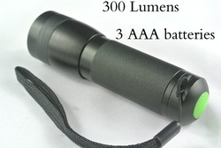 Free Shipping 2pcs/lot Aluminum Alloy Mini High Brightness LED flashlight Miniature Electric Torch Can be Put into Pocket #FL10(China (Mainland))