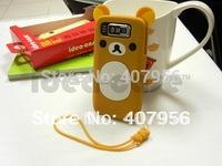 New Design Rilakkuma Lazy Bear Soft Back Case for Nokia E72i E72,With high quality,1pcs min order