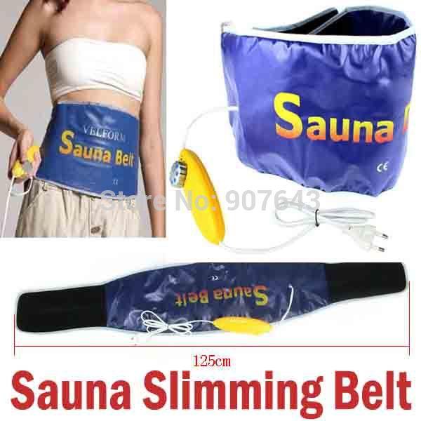 Sauna cintura Slimming Belt corpo de aquecimento massagem Velform elétrica profissional de beleza cuidados de saúde perda de peso Massager 220 V frete(China (Mainland))