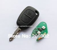 Renault Clio , Kango 2 button remote key control 434mhz with ID46 chip