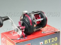 Promotion! 1X Huihuang 3+1BB BT20 conventional Trolling Fishing tackle Bait Casting Boat Fishing Reels Salt Water Reel