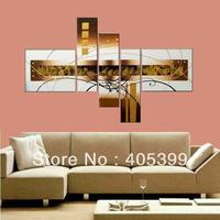 Framed!! Frame oil painting !5 panels /set  Huge  Framed/Stretched  painting  JYJZ038