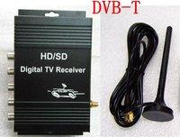 Support USB mobile hard disk /MPEG-2 YOTOON 2013 Mobile Car DVB-T Digital TV Tuner Receiver Box System