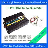 800w power converter, 12v 220v inverter 800w,Pure sine wave inverter 800W with selectable sockets