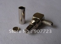 10pcs CRC9 male right angle crimp RG174 RG188 RG316 connector adapter for HUAWEI 3G USB modem