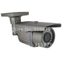 free shipping 700TVL Manual zoom waterproof cctv bullet ccd camera
