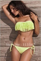 Geniality color Newest Fashion branded swimwear with lining,sexy bikini with PAD S M L size Black blue yellow white red k8088