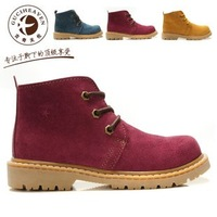 Free Shipping 2012 Best Selling Brand  Guciheaven 100% Cow Leather Martin Boots,Fashion Male And Female Lovers Shoes Wholesale