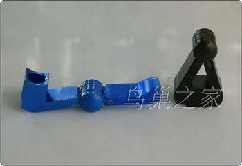 Free shipping  5pcs/lot MINI folding collapsible accordion Magic  Metal pipe smoking pipe