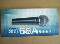 Free shipping best Quality with new package Beta58 / beta 58 Vocal Dynamic Wire Microphone 58a