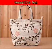 free shipping canvas women bags handbags fashion  2012 new ladies designer flowers versatile for women's tote