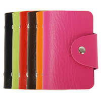 DHL free shipping 50pcs/lot 8 colors  PU leather Credit bank card wallet card cases BG004