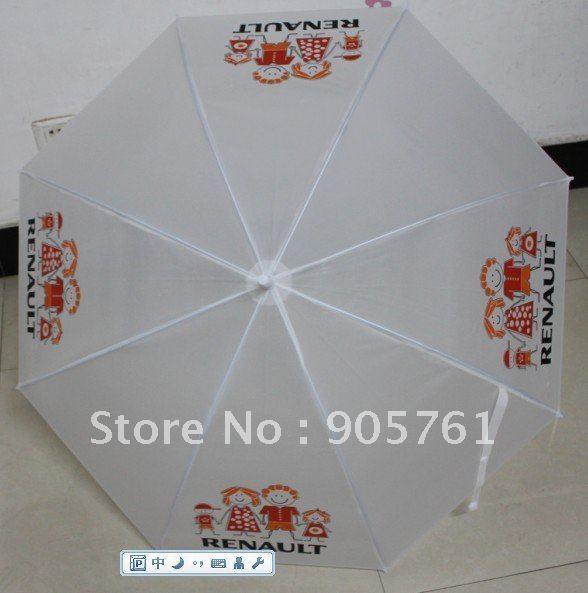 Free shipping 100pcs/lot Auto open umbrella, Logo printing umbrella, wedding umbrellas, promotion gifts(China (Mainland))