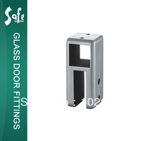 SUS 304 grade stainless steel top panel tube connector for washroom partition