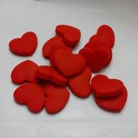 Free shipping(30pcs/lot)Red heart  tennis racket vibration dampeners/tennis racquet