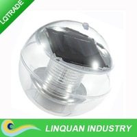Solar floated lamp/1 LED courtyard landscape garden light/color ball lamp/outdoor decorative pond lamp