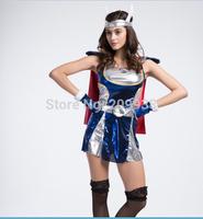Superman costumes,female warrior cosplay ,women halloween costumes AMN2802