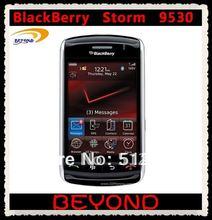 Unloked Original Blackberry Storm 9530 Mobile Phone GSM+CDMA GPS smartphone dropshipping(China (Mainland))
