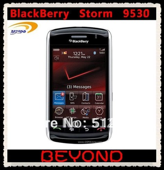 Unloked original Blackberry Storm 9530 mobile phone GSM+CDMA smartphone free shipping