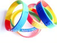 Embossed LOGO hotsale silicone sport bracelets & wristbands