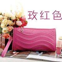Wholesale 3pcs / lot women's designer fashion pu handbag ladies' Messenger shoulder clutch wallet 23CM*13CM*4CM Free shipping