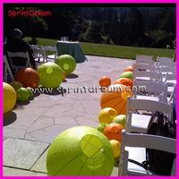 (100pcs/lot) 30cm wedding lantern, round lantern, wedding decoration, hanging paper lantern