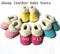 cute baby boots soft sole genuine leather baby children shoes