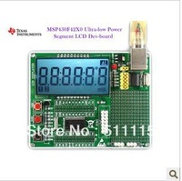 The of MSP430F4250 4260 4270 LCD Development Board + USB Programmer download the program directly