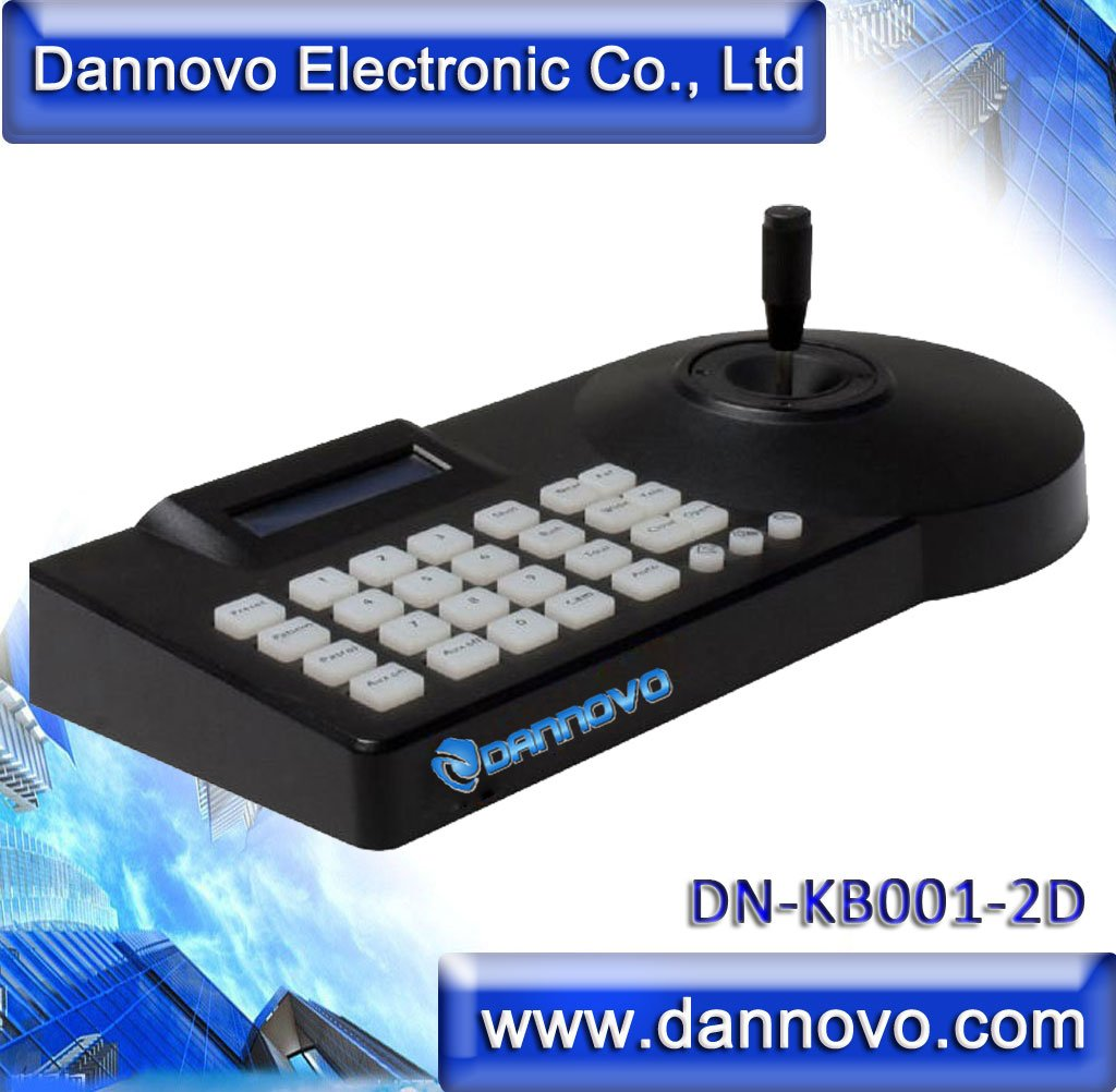 DANNOVO Pan Tilt RS485 Keyboard Controller LCD display For CCTV Speed Dome Camera and Video Conference Camera,Pelco-P/D Protocol(China (Mainland))
