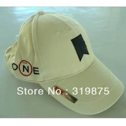 Free shipping, Golf NI cotton cap , new style ONE cap ,adjustable visor cap,Hats ,head wear(China (Mainland))