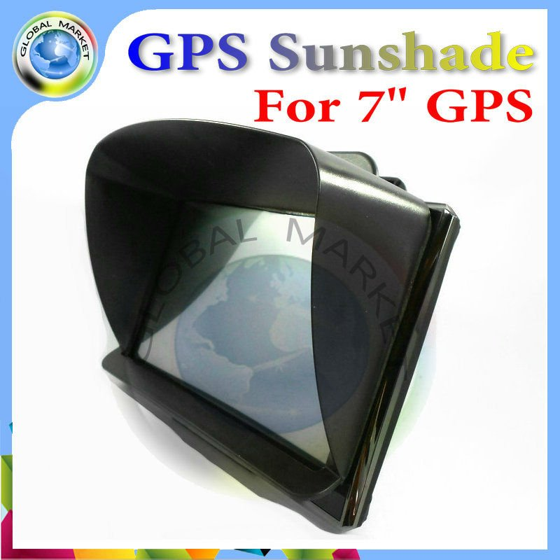 7 inch GPS universal sunshade sunshine shield for 7 inch car GPS navigator(China (Mainland))