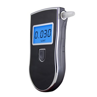 Prefessional Police Digital Breath Alcohol Tester Breathalyzer Freeshipping Dropshipping