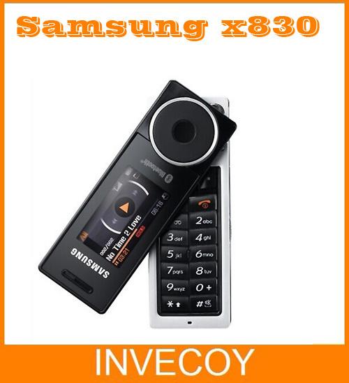 Téléphone rotatif samsung x830 sgh-x830 déverrouillé. 1gb mémoireinterne téléphone livraison gratuite