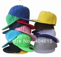 Wholesale adult hiphop bboy hat,women and men popular sport blank flat fitted baseball caps