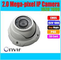 2 Megapixel Wide Angle Indoor/Outdoor Mini Dome H264 Network IP Camera 1080P PoE Optional,Onvif, KE-HDC232