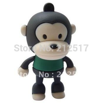 Free shipping big mouth monkey cartoon Monkey USB flash drive 4G 8G 16G 32GB 64GB 128GB Monkey USB Pen drive