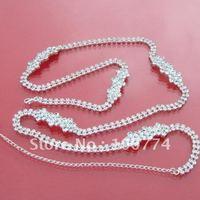Free Shipping New Arrival Fashion CZ diamond chain star belt Wholesale B0021