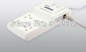Free shipping multi socket power line communication 200Mbps homeplug ethernet bridge