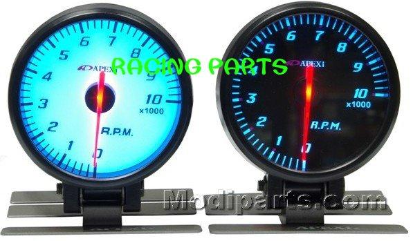 60MM APEX AUTO GAUGE / AUTO  METER /TACHOMETER GAUGE (BLACK FACE  OR WHITE FACE)