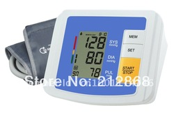 Fully Automatic Digital Upper Arm Blood Pressure and Pulse Monitor,Sphygmomanometer, Portable Blood Pressure Monitor(China (Mainland))