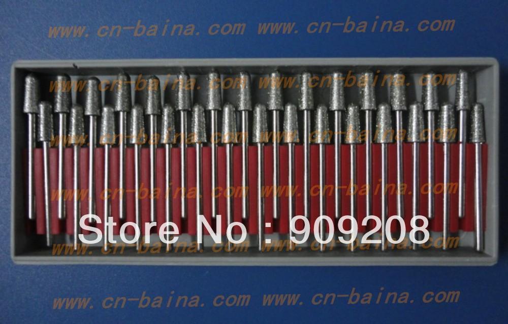 silicon carbide bur diamond bur 5R micro motor grinding bur grinding material polishing tool(China (Mainland))