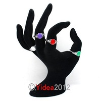 Wholesale - 60pcs Mixed Alloy Imitation Jade Rings 16-19mm Fit Gifts Party 260460