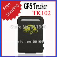 TK102 GPS Tracker Smallest Mini Quad Band Personal GPS Tracker Free Shipping