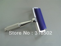 4inchs silicone sticky roller with aluminum handle for pcb cleaning